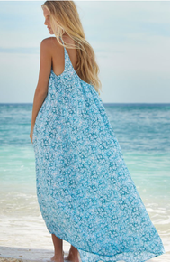 Mikoh Swimwear Biarritz Maxi Dress Hibiscus