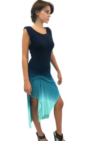 Young Fabulous and Broke Bryton Dress Navy Ombre