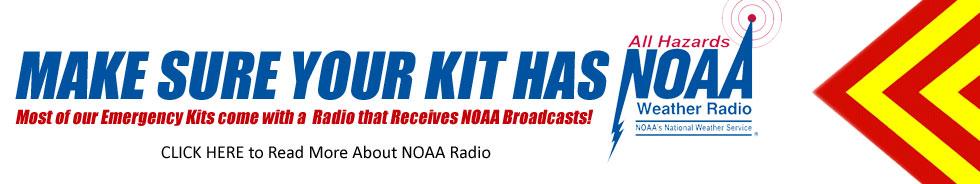 Make Sure Your Emergency Kit Has NOAA Radio