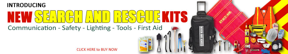 Search and Rescue Emergency Kits