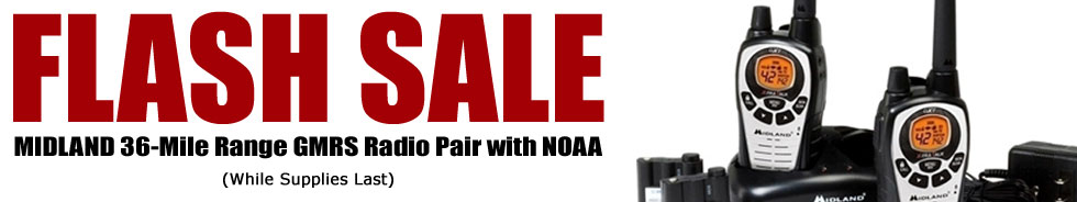 Flash Sale on GMRS Radios!