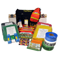 Incident Command and Triage Kit on Wheels