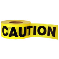Barricade Tape - CAUTION (1000ft)