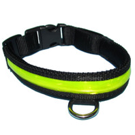 Flashing Reflective Dog Collar