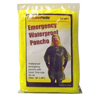Waterproof Poncho - Adult Size