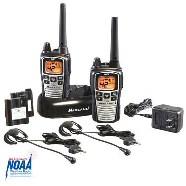 Midland GRMS Two-Way Radio Pair - 36 Mile Range (860VP4)