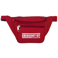 "Heavy-Duty ""EMERGENCY KIT"" Fanny Pack (Front View)"