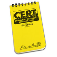 CERT All Weather Notebook
