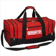"Heavy-Duty ""EMERGENCY KIT"" Duffel Bag (Large)"