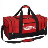 """Heavy-Duty """"EMERGENCY KIT"""" Duffel Bag (Large)"""