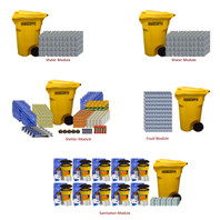 Emergency Supplies for School - Full Modular Set (200 Person)