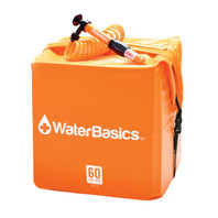 WaterBasics Emergency Water Storage Kit with Filter (60 Gallon) - Items