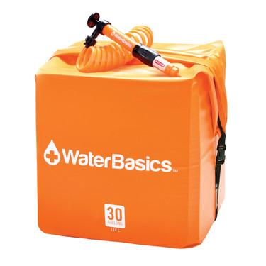 WaterBasics Water Storage Kit with Filter (30 Gallon)