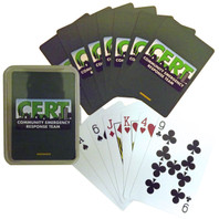 CERT Playing Cards - Poker Sized