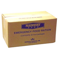 Case of 20 Mainstay Emergency Food Rations - 2400 Calorie