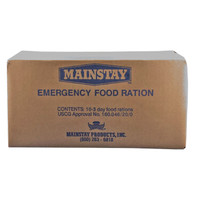 Mainstay Emergency Food Bar - 3600 Calorie (Case of 10)