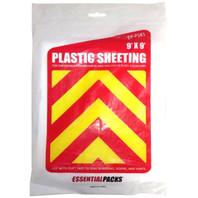 Plastic Sheeting (9' x 9')