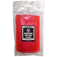 Biohazard Waste Bags (12 Pack)