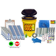Classroom Lockdown Kit - Displayed with Optional Window Clings