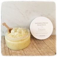 Lavender & Orange Sugar Scrub - Large