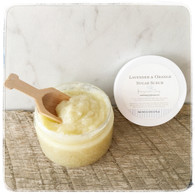 Lavender & Orange Sugar Scrub - Small