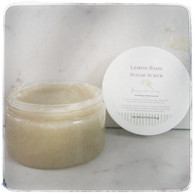 Lemon Basil Sugar Scrub - Small