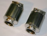 Porsche 997.1 TT SpeedTech Hi-flow Catalytic Converters