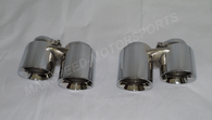 Porsche 991 / 991S / 991C4S Quad Exhaust Tips by NHP