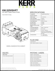 KERR KM-3250SHPT (42.7 BHP)