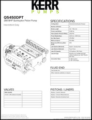 KERR Q5450DPT (288 BHP)