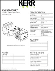 KERR KM-3300SHPT (42.7 BHP)