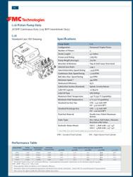 FMC BEAN L16 SERIES
