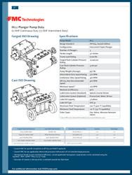 FMC Technologies M12 SERIES (77 BHP Intermittent Duty)