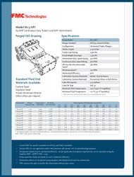 FMC Technologies M13 SERIES (108 BHP Intermittent Duty)