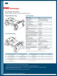 FMC Technologies M14 SERIES (104 BHP Intermittent Duty)