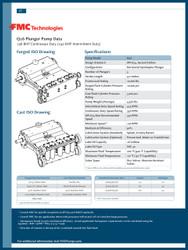 FMC Technologies Q16 SERIES (240 BHP Intermittent Duty)