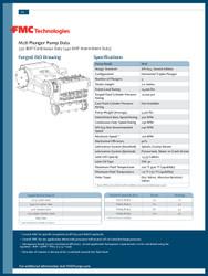 FMC Technologies M28 SERIES (440 BHP Intermittent Duty)