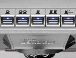 Volumetric Push Button Control Panel