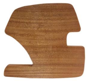 Sapele Wood Side Panel