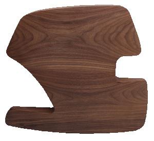 Walnut Wood Side Panel