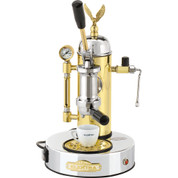 Elektra Micro Casa a Leva ART S1CO Chrome / Brass Lever Espresso Machine