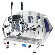 La Pavoni Diamante Lever Espresso Machine (Red or Blue) - 2 or 3 Group