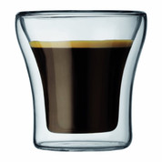 Bodum Assam Double Wall Shot/Espresso Glasses - Set of 2