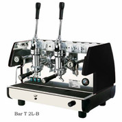 La Pavoni BAR T 2L-B, 2 Group lever, Black or Red