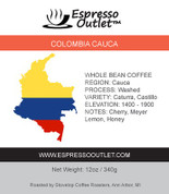 Colombia Cauca Whole Bean Coffee