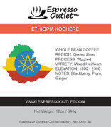 Ethiopia Kochere Whole Bean Coffee