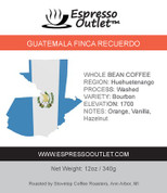 Guatemala Finca Recuerdo Whole Bean Coffee