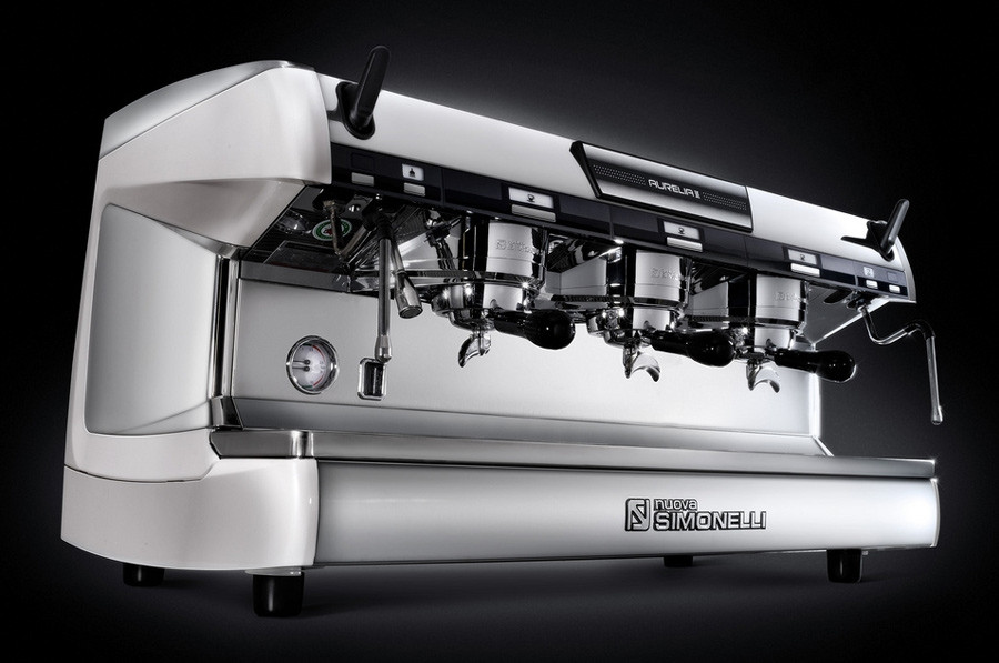 Nuova Simonelli Aurelia Ii 3 Group Semi Automatic