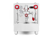 Izzo Alex Duetto 4 Espresso Machine - Red Accents