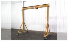 Spanco 3 Ton E-series Adjustable Height 7 10 to 14 0 Gantry Crane